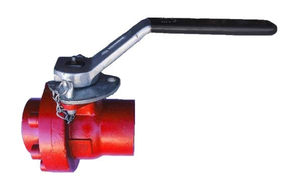 Carbon Steel 3″ FNPT Bolted Ball Valve 2PC FULL Port WOG#5000 PSI